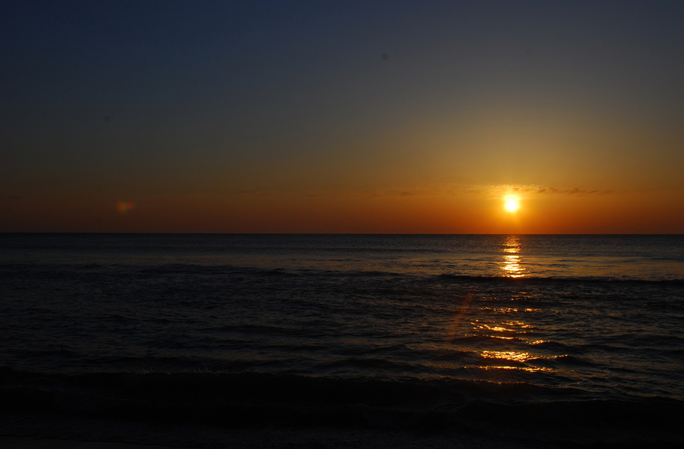 Sunrise Over Virginia Beach, Virginia